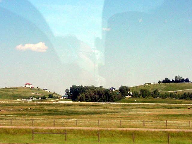 Alberta farm lands...