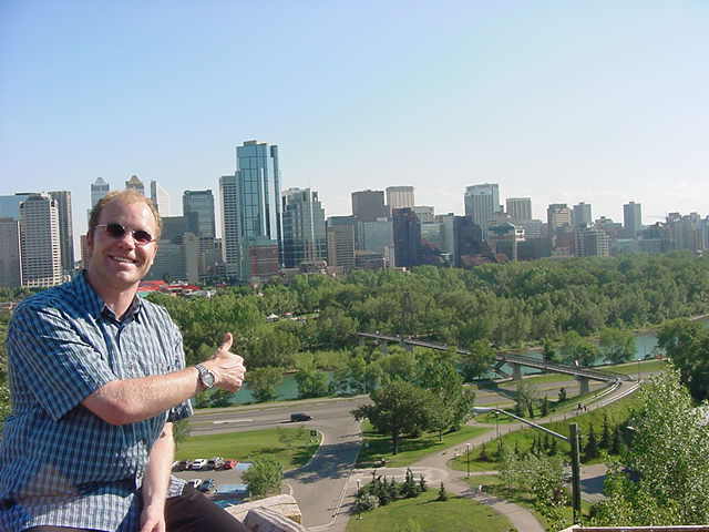 Yeehaw Calgary, I made it!