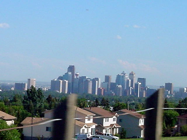 And the downtown district of Calgary.