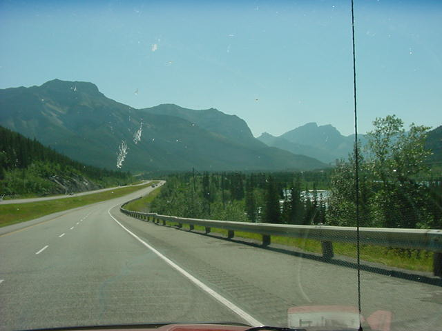 The ride to Canmore took a bit more than an hour, but look at this. Time flew by!
