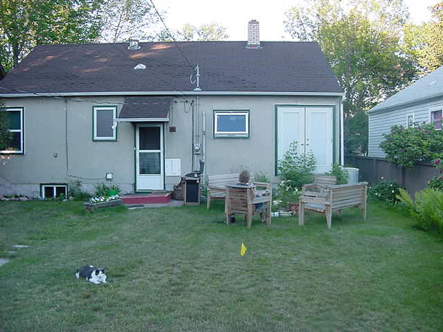 Charity and her boyfriend live in this gentle house outside of Edmonton.