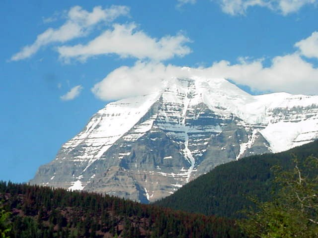 Just look at one of the biggest mountains in Canada!