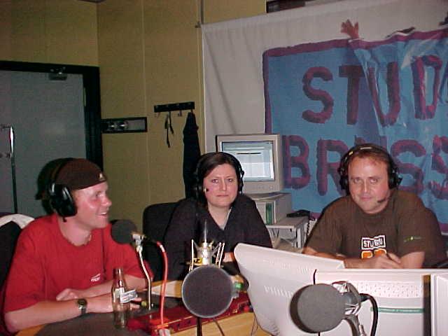 I had an interview on the popular Belgian radiostation Studio Brussel!