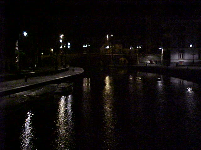 Ghent City by night...