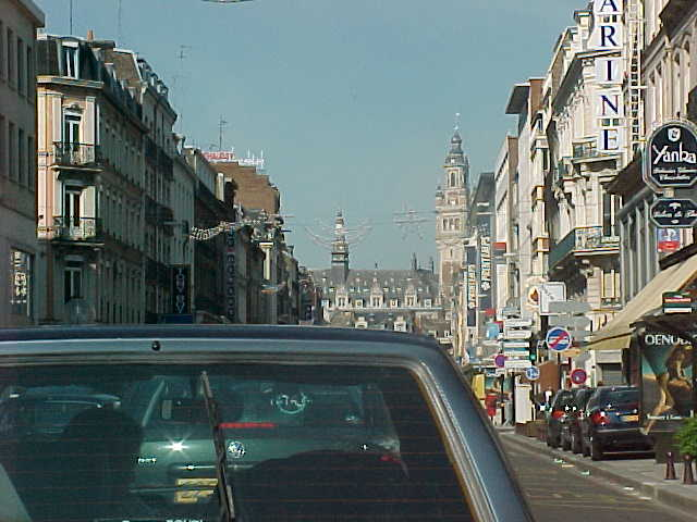 Have I mentioned yet that France is known for its city traffic jams...