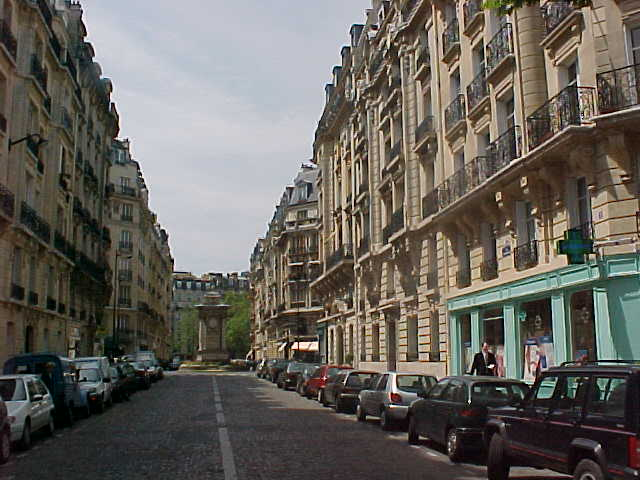 Actually, just a Parisian street to remember...