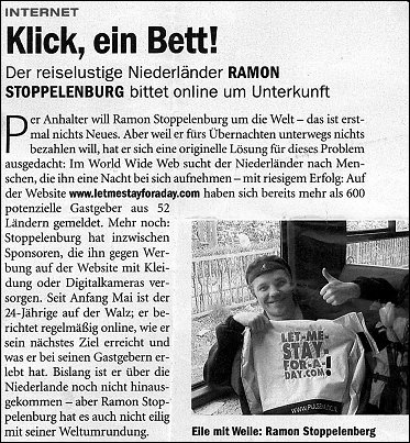 The German magazine Stern lately published about me too...