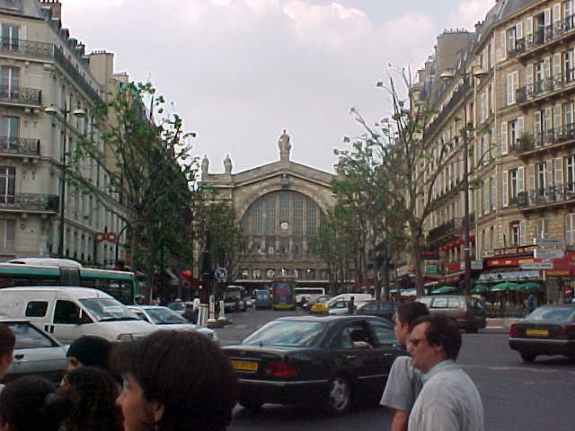 On of the oldest stations in Paris is the Gare Du Nord...