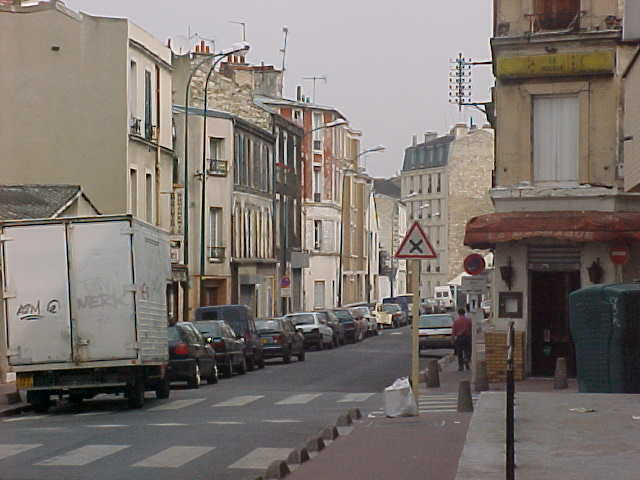 Typical Northern Paris streets...