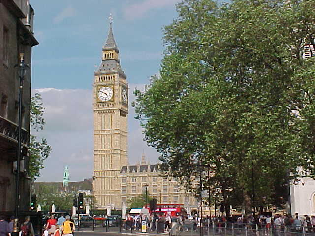 Great view of the London Big Ben!