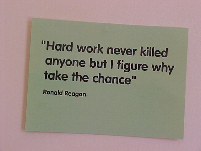 I totally agree (hanging on the wall in my bedroom)