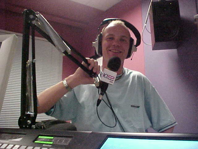Me at the KissFM studio today...