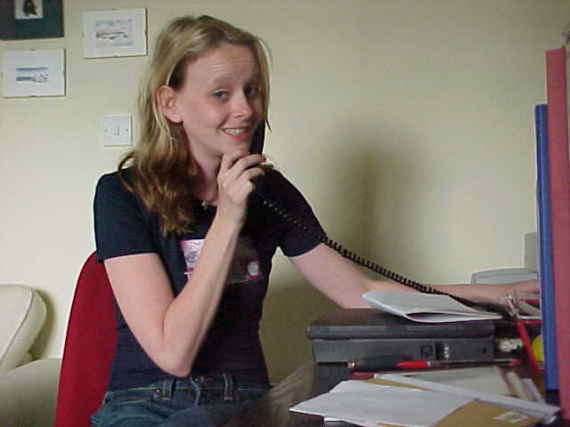 This is Heidi trying to contact somebody at Sky Television, I definitely had to go there too, she said...