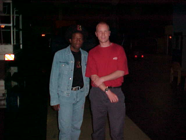 Eddy Grant with me, electifying!