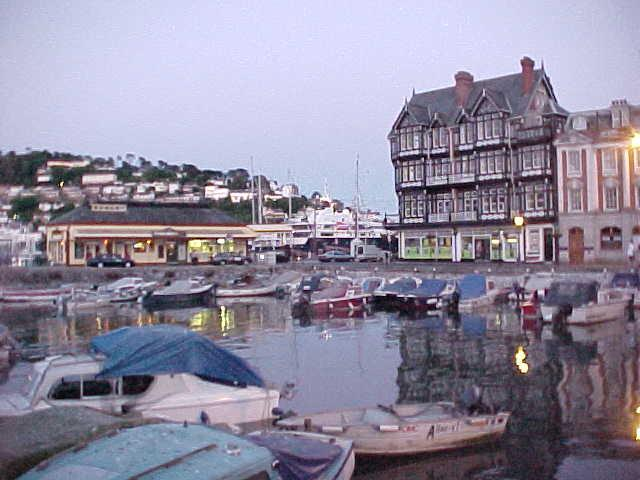 The historic - almost medieval - port of Dartmouth...