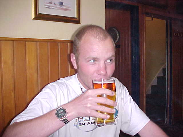 ... and have a pint in a local Dartmouth pub...