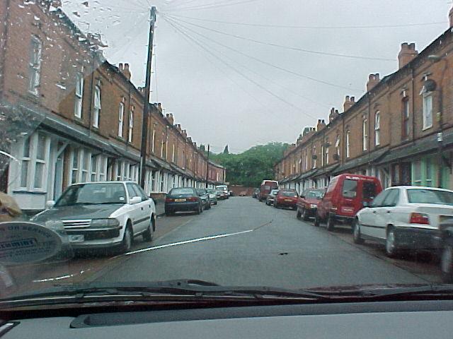 Entering Birmingham city...