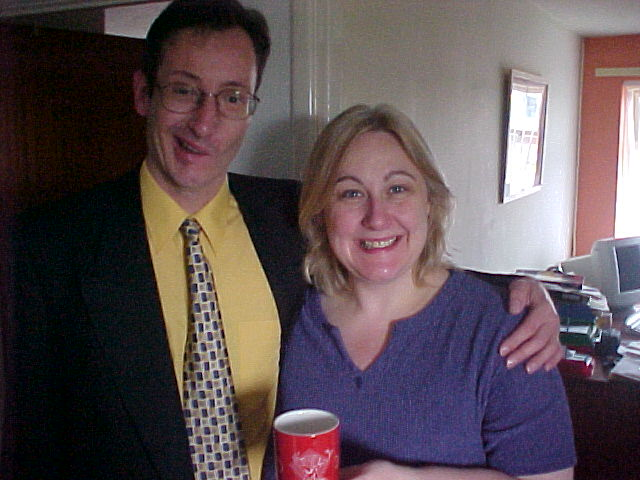 From Andy in Heath Hayes Colin and Wendy got a Cannock High School mug as The Gift.