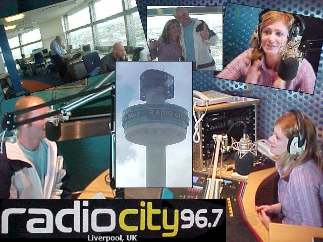 A collection of photos made on the tower of Radio City in Liverpool...