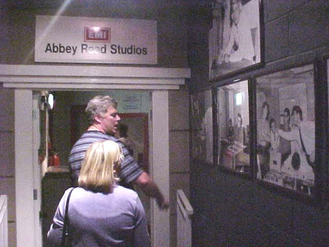 The museum even rebuilt the Abbey Road studios...