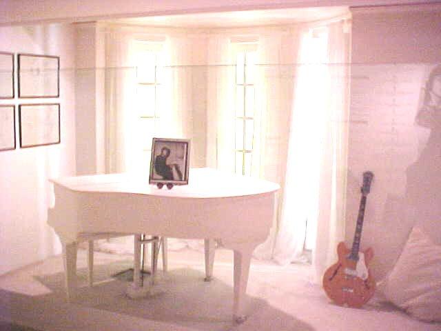 The White Room where John Lennon played IMAGINE...