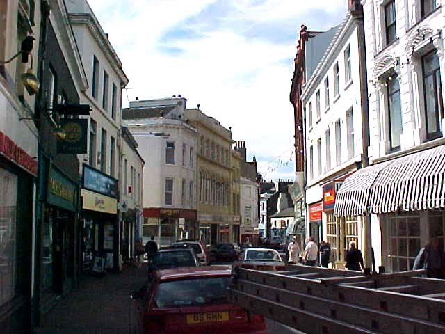 The streets of the little city of Ramsey.