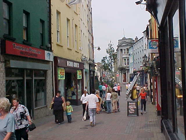 The View of the Waterford Centre.
