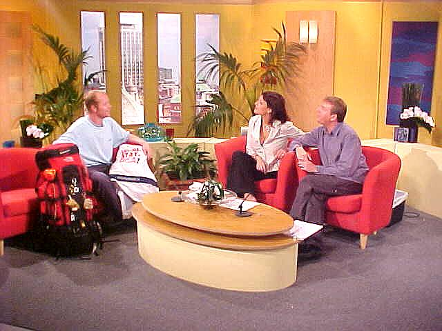 LIVE on Irish televsion on TV3s programme called IrelandAM.