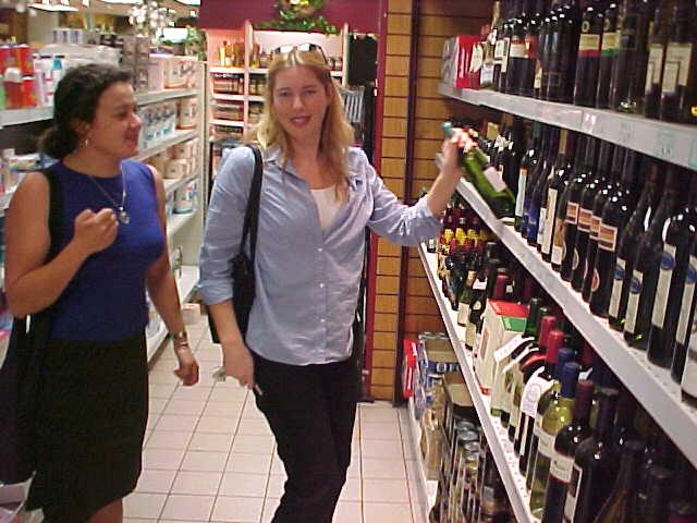 At the shops Niamh learned me the Irish basic attitude: always take alcohol home...