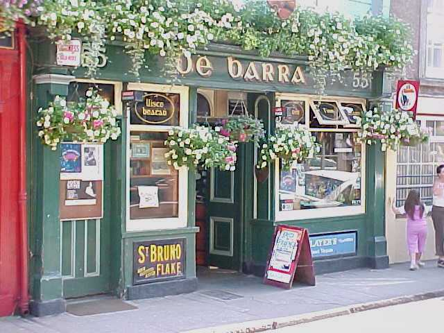 And visited the famous De Barras Pub there.