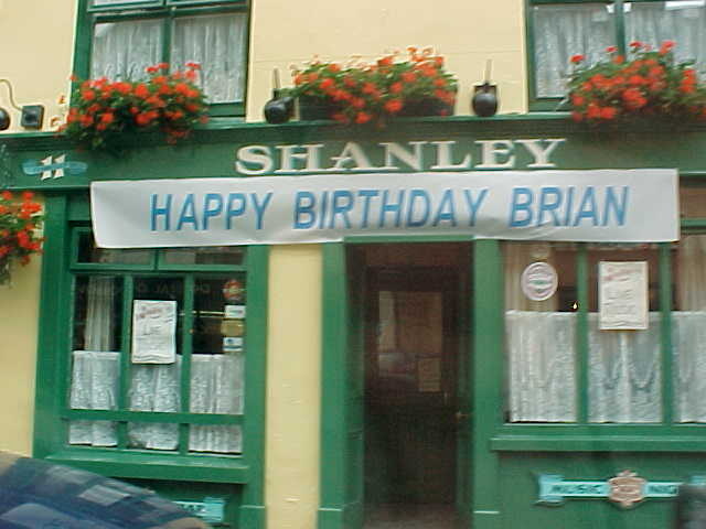 Yeah, Happy Birthday Brian! Whoever you may be!