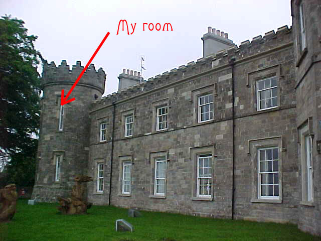 This is where I stayed in Northern Ireland. The former castle ruin now is a luxurous youth hostel in a little nice place called Dungiven. Visit their website at www.dungivencastle.com.