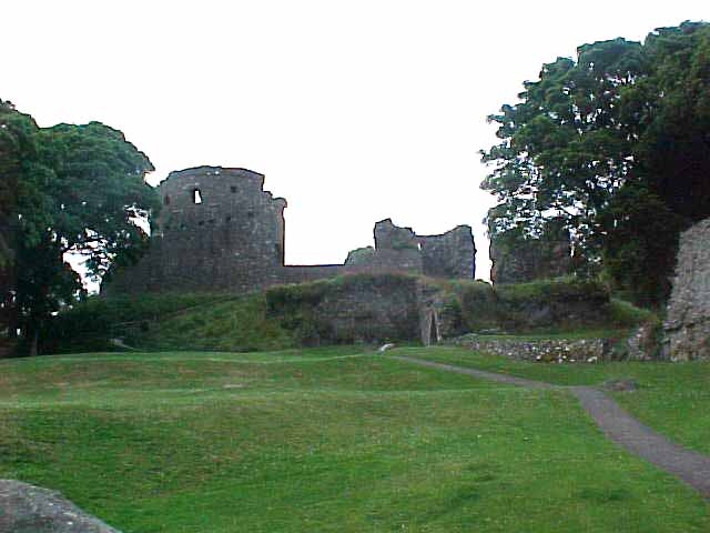 Dundrum Castle, dating from... a long time ago...