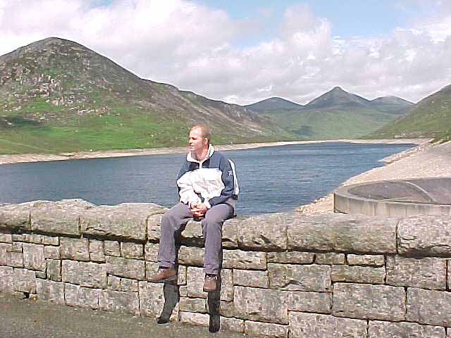 Me at the Silent Valley water reservoir.