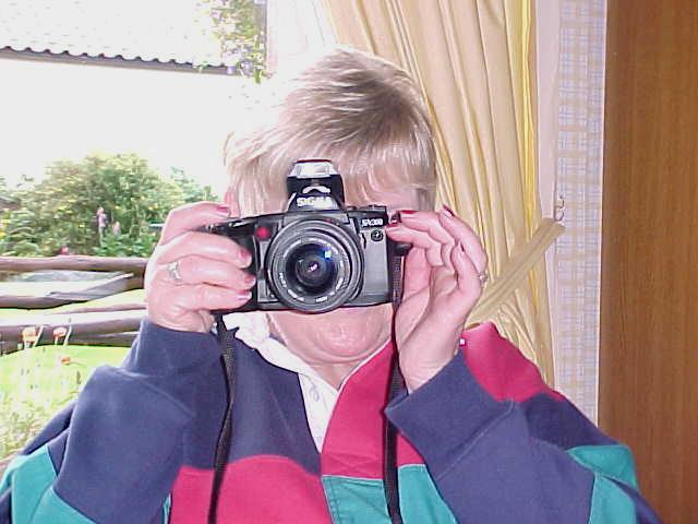 My hostess Sylvia loves to take pictures. Of anything!
