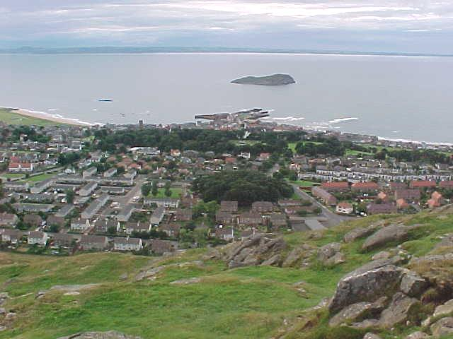 North Berwick from above...