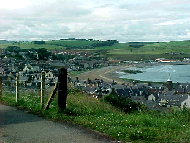 Stonehaven from above...