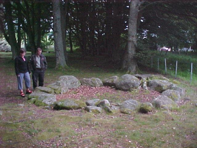 And we could not conclude if this was an original unreported stone circle or just a modern family barbeque spot...