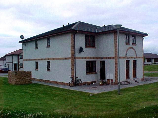The apartment where Per and Tonje Johnsen live.