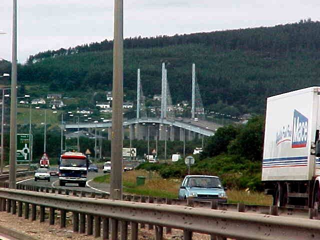 Inverness from the road.