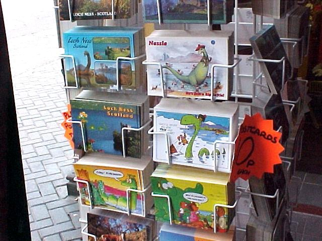 Until now I only saw the monster of Loch Ness on the many postcards for sale on every corner.