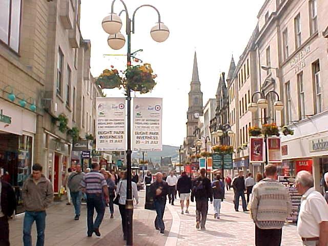 Inverness centre.