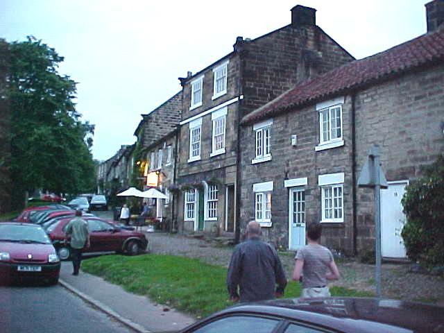 The Three Tuns, an awards winning restaurant (Michelin Star!), in the remote real English village Osmotherley.