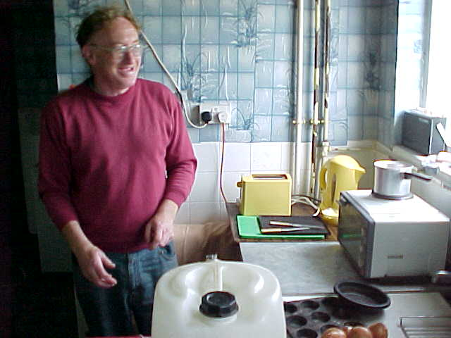 The house has no running water, as the plumber refused to return after his first visit. Gas and electricity are still present.