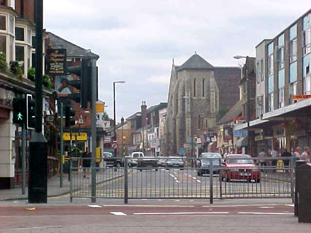 A view on Bedford centre.