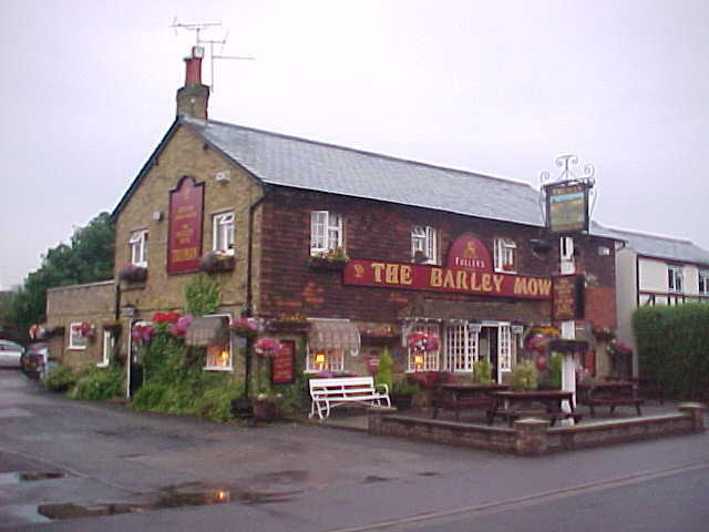The Barley Mow from the outside.