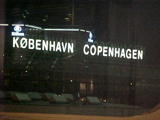 My first view on Copenhagen/Køpenhavn in Denmark.