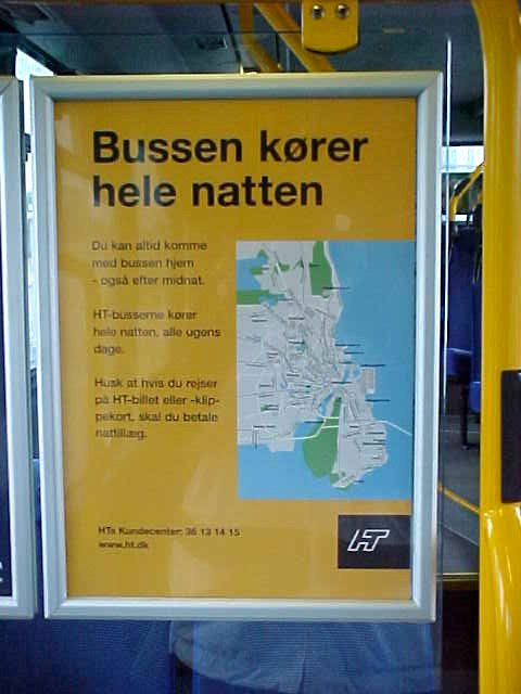 In the bus to the Danish Radio (yep, again), I figured out the Danish language. And it is not really that difficult. I mean, everybody can read that Busses Drive All Night?