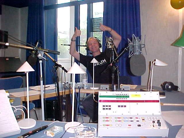 Yep, me live in the P3 studio.