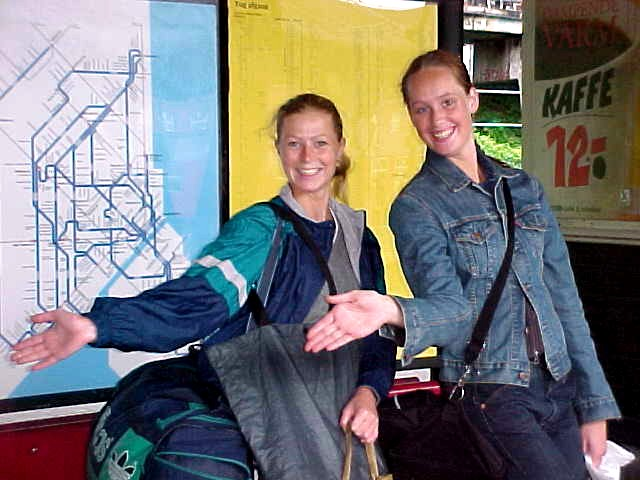As Mischa and Lisa went for the swimming pool, they said goodbye to me at the train station.